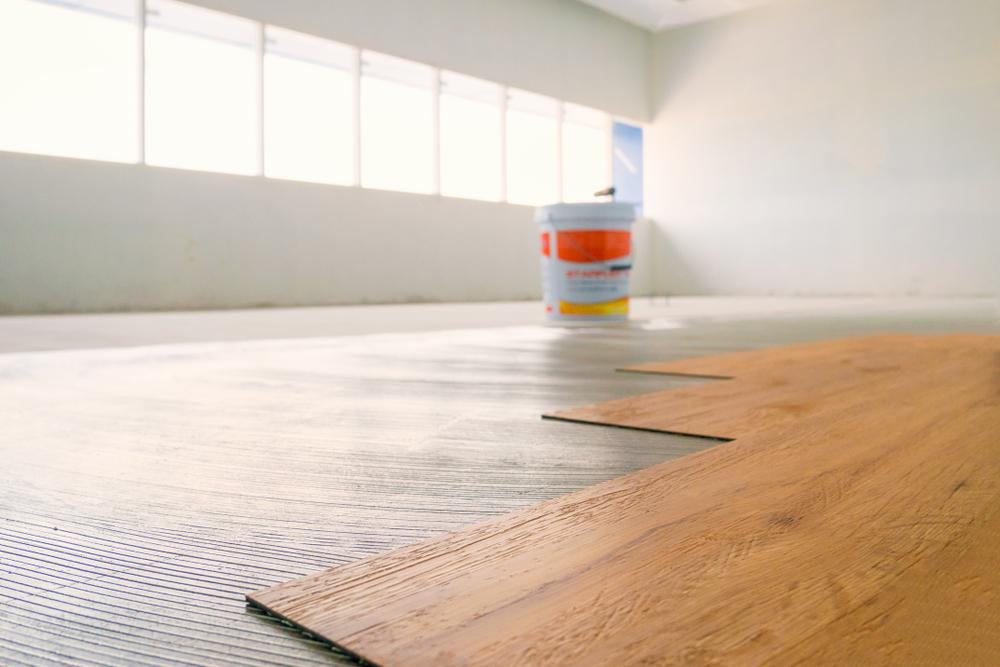 vloer zetten